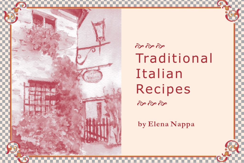 Italian traditional cookbook