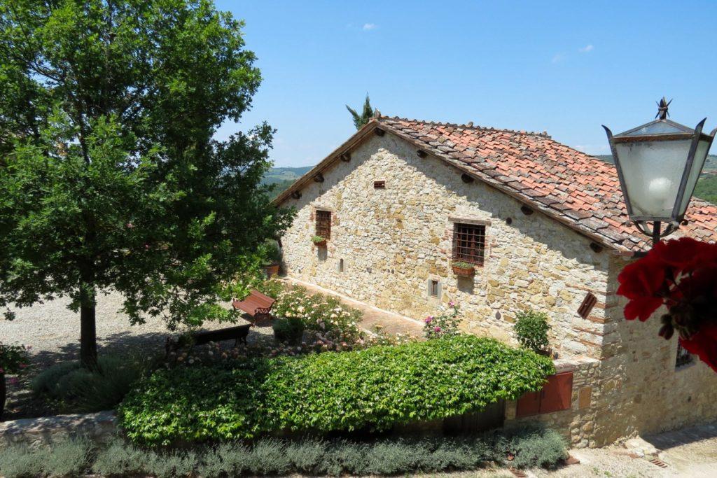 View on Villa Oliviera