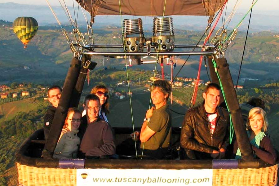 tuscany and chianti activities ballooning