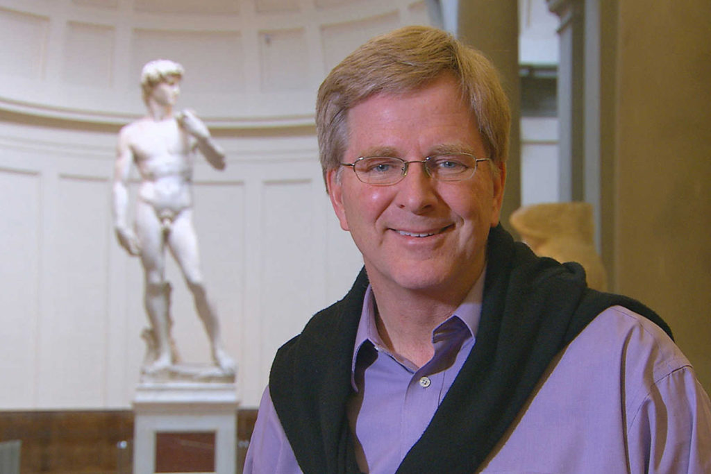 Rick Steves in Florence