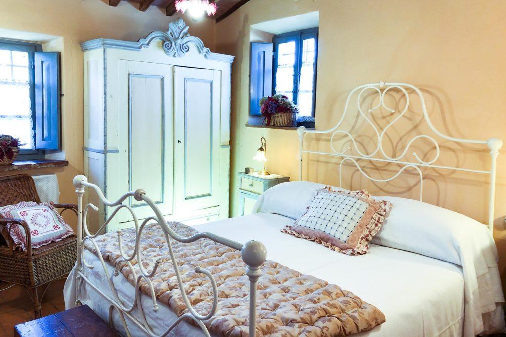 Bedroom Piccola Villa - Chianti Siena Tuscany villas