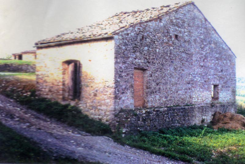 Piccola villa before renovation
