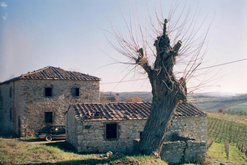 Borgo Argenina hamlet main building before renovation