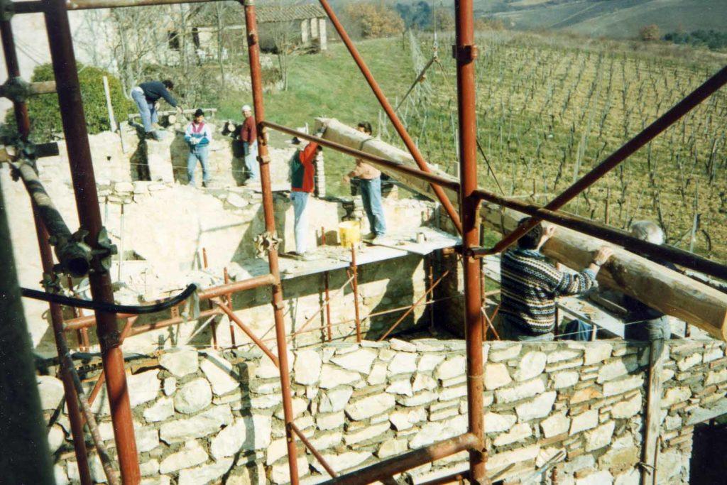 Borgo Argenina main house renovation