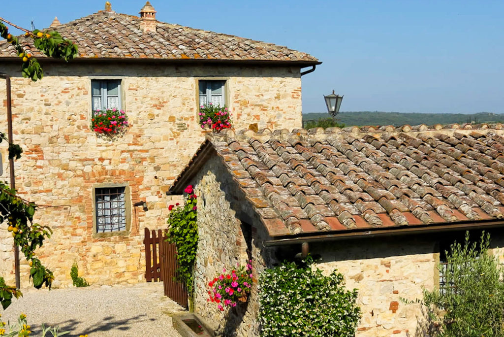 Borgo Argenina restored traditional hamlet