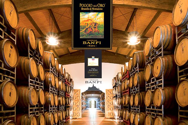 castello-banfi - Best wineries in Chianti Siena Tuscany