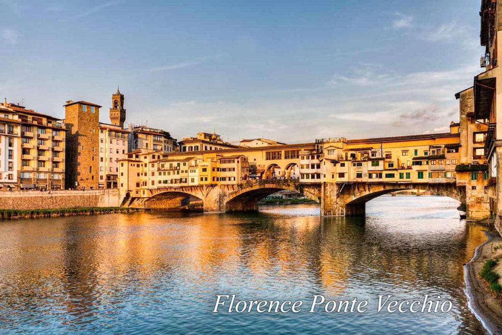 Florence Ponte Vecchio sbagliato