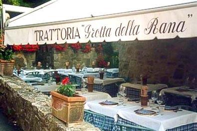 la-grotta-della-rana - best restaurants in Chianti Siena Tuscany