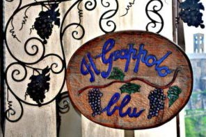 La Taverna del Grappolo Blu - best restaurants in Chianti Siena Tuscany