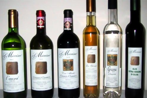 le-miccine - Best wineries in Chianti Siena Tuscany