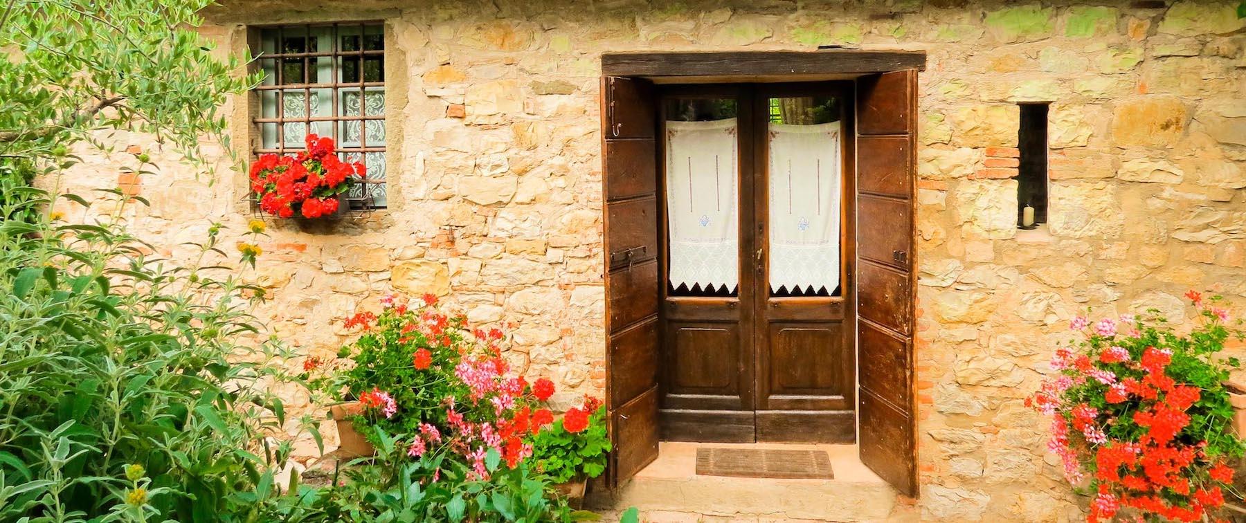 piccola villa borgo argenina - Chianti Siena Tuscany villas