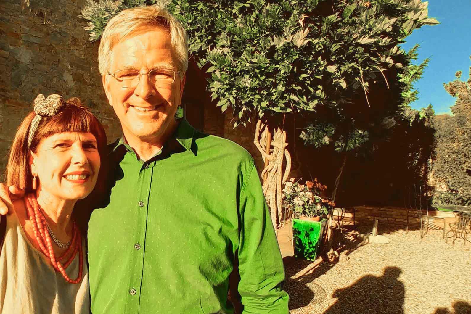 Rick Steves & Elena Borgo Argenina