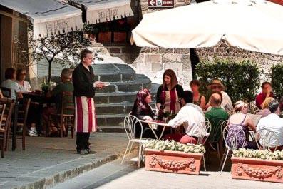 Ristorante le Potazzine - best restaurants in Chianti Siena Tuscany