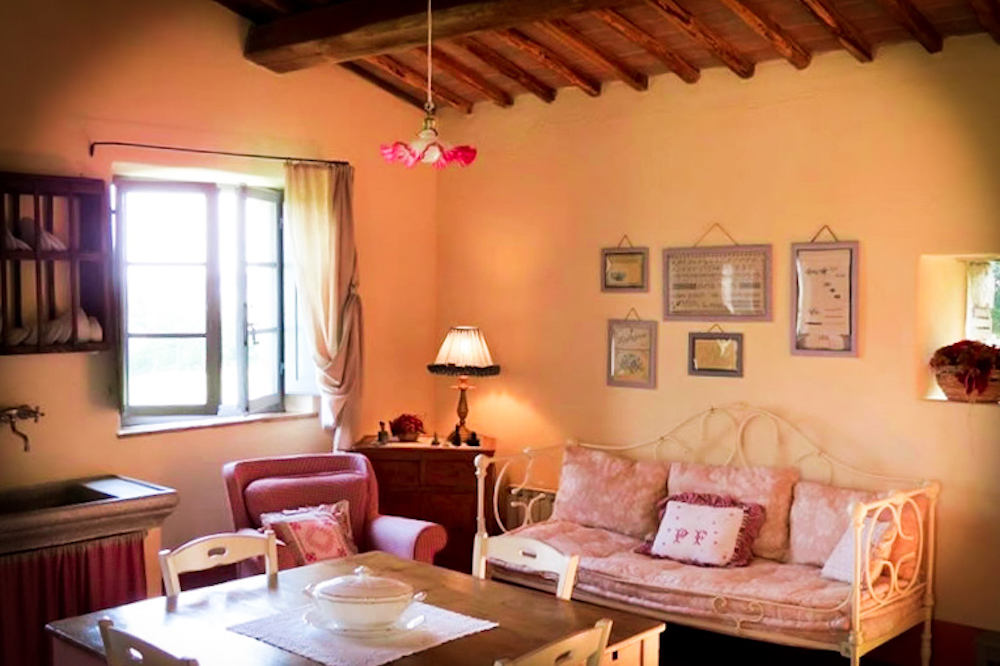 Sitting room - Bed and breakfast in Chianti Siena Tuscany