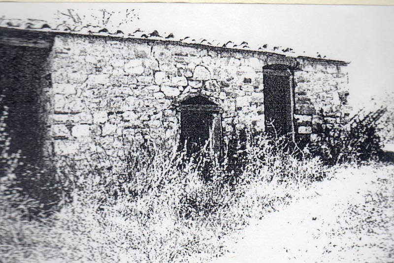The little house before renovation