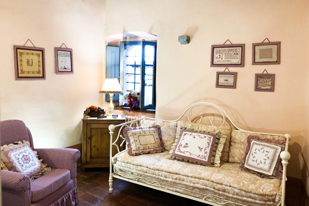 Suite Gaura inside - bed and breakfast in Chianti Siena Tuscany