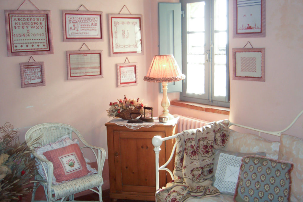 Suite Gaura room - bed and breakfast in Chianti Siena Tuscany