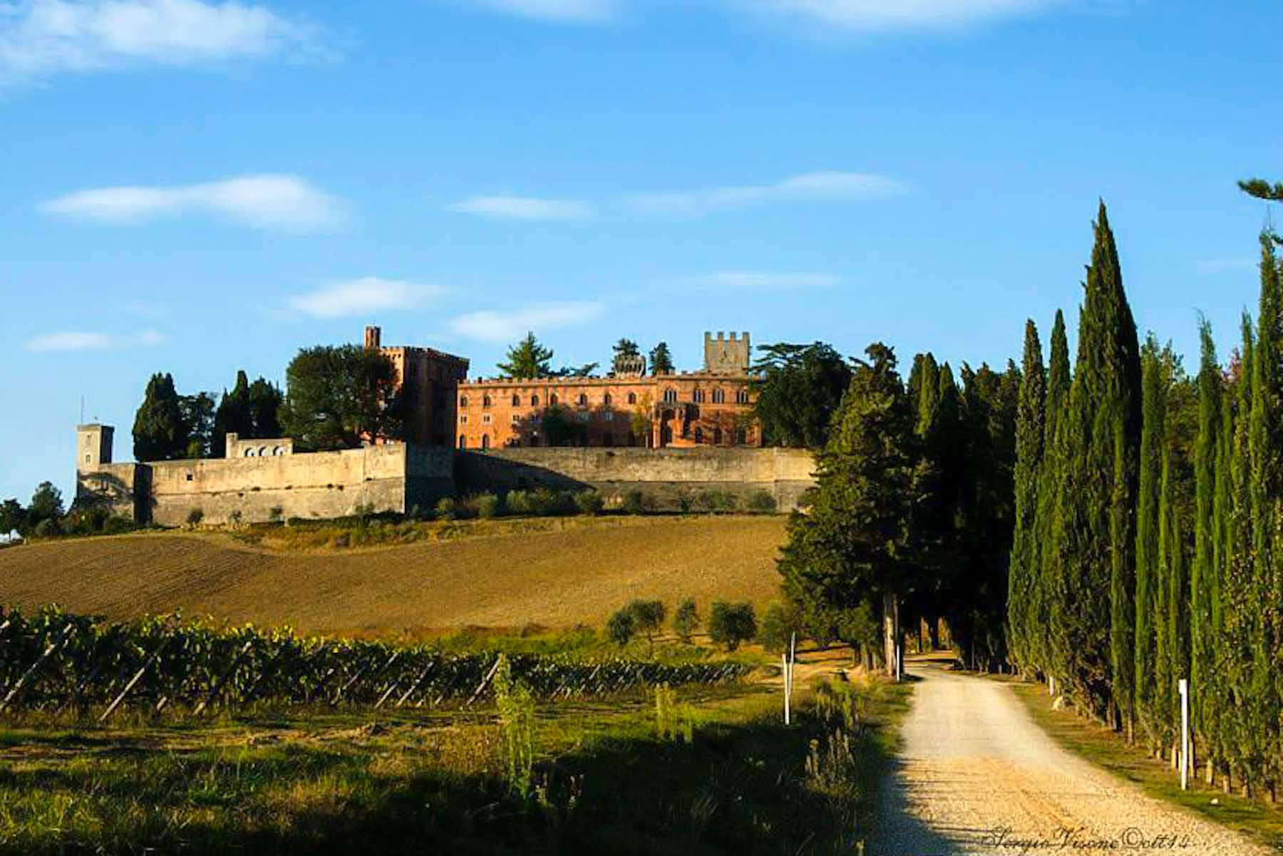 Brolio Castle - Chianti Wine Road - Best places to visit in Tuscany