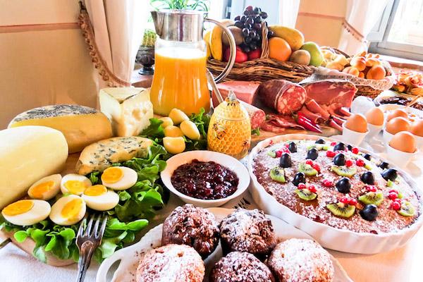 chianti continental breakfast
