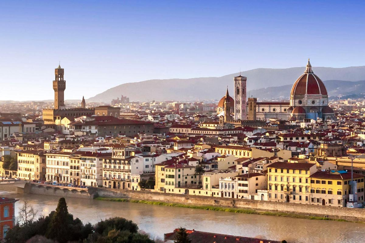 View on Florence - Best places to visit in Tuscany