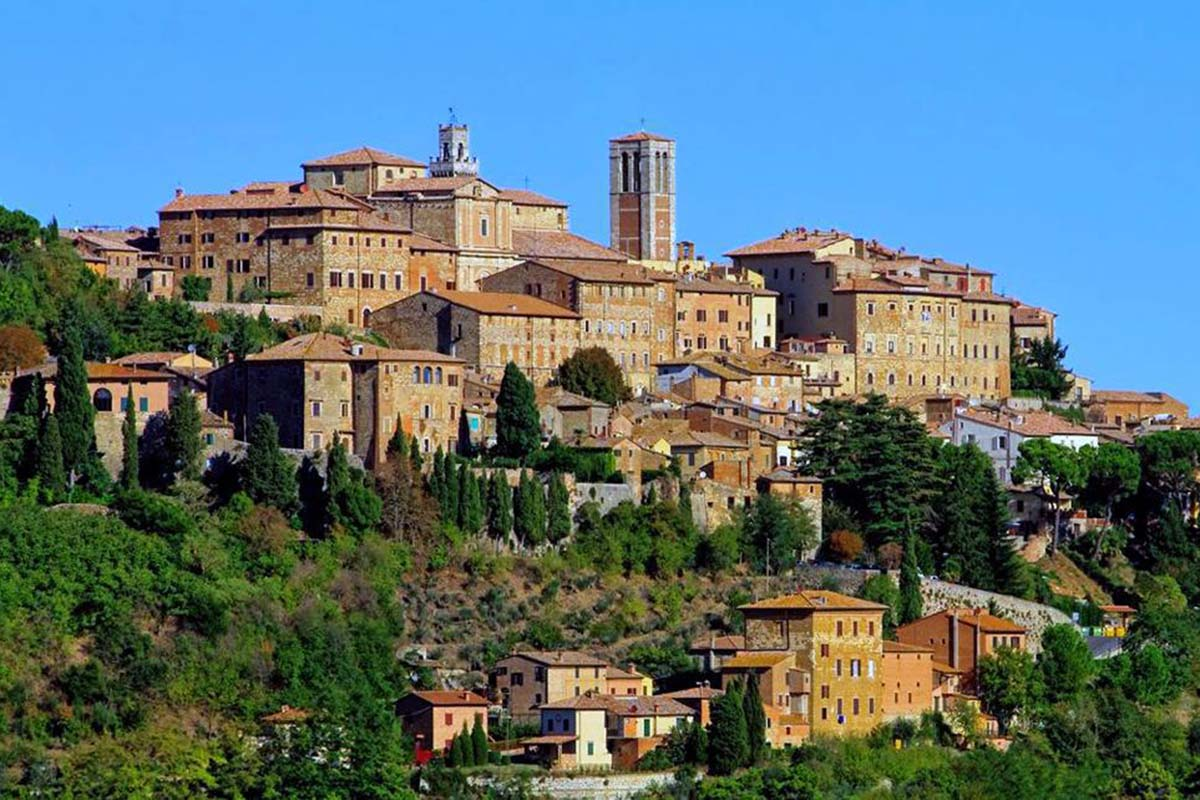 View on Montepulciano