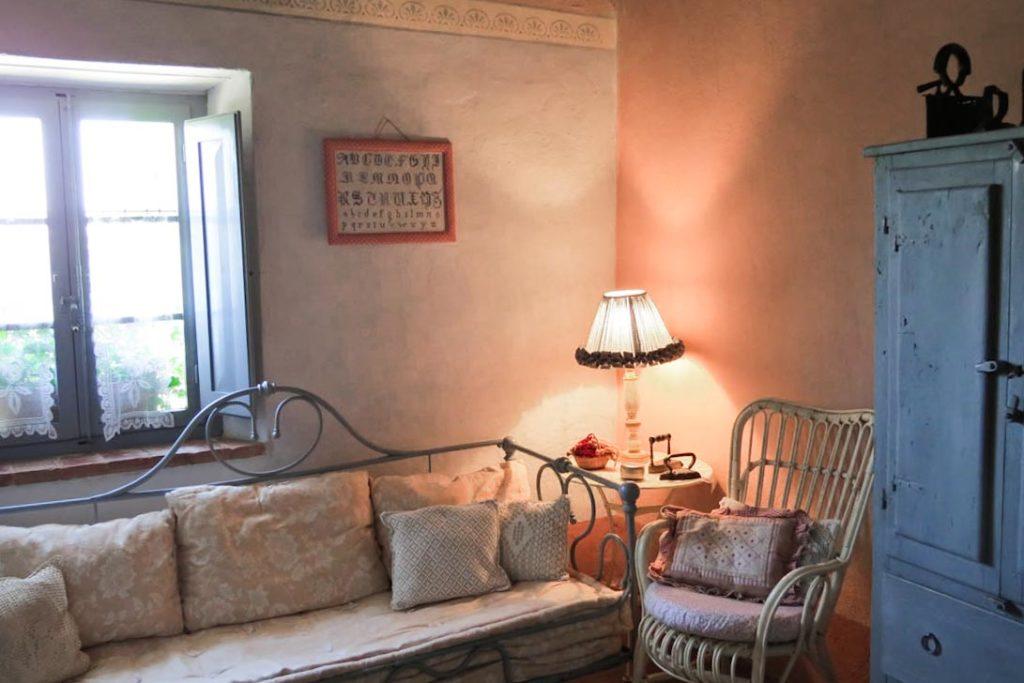 Piccola villa apartment sitting room