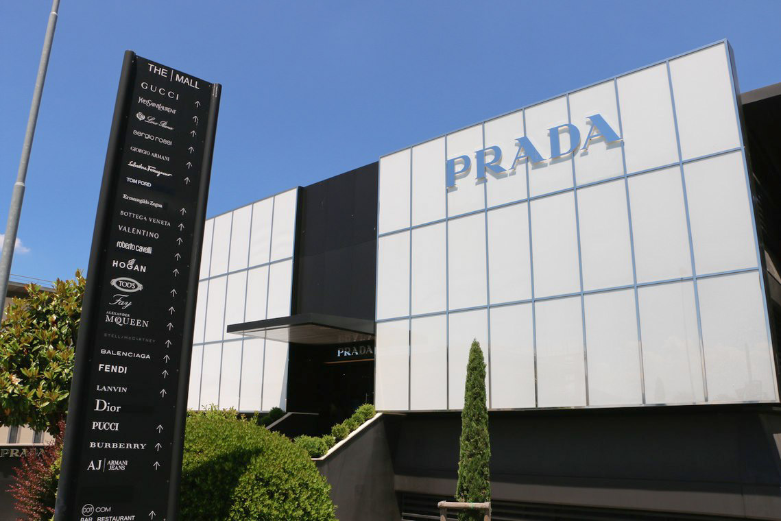 Prada Outlet at The Mall Firenze
