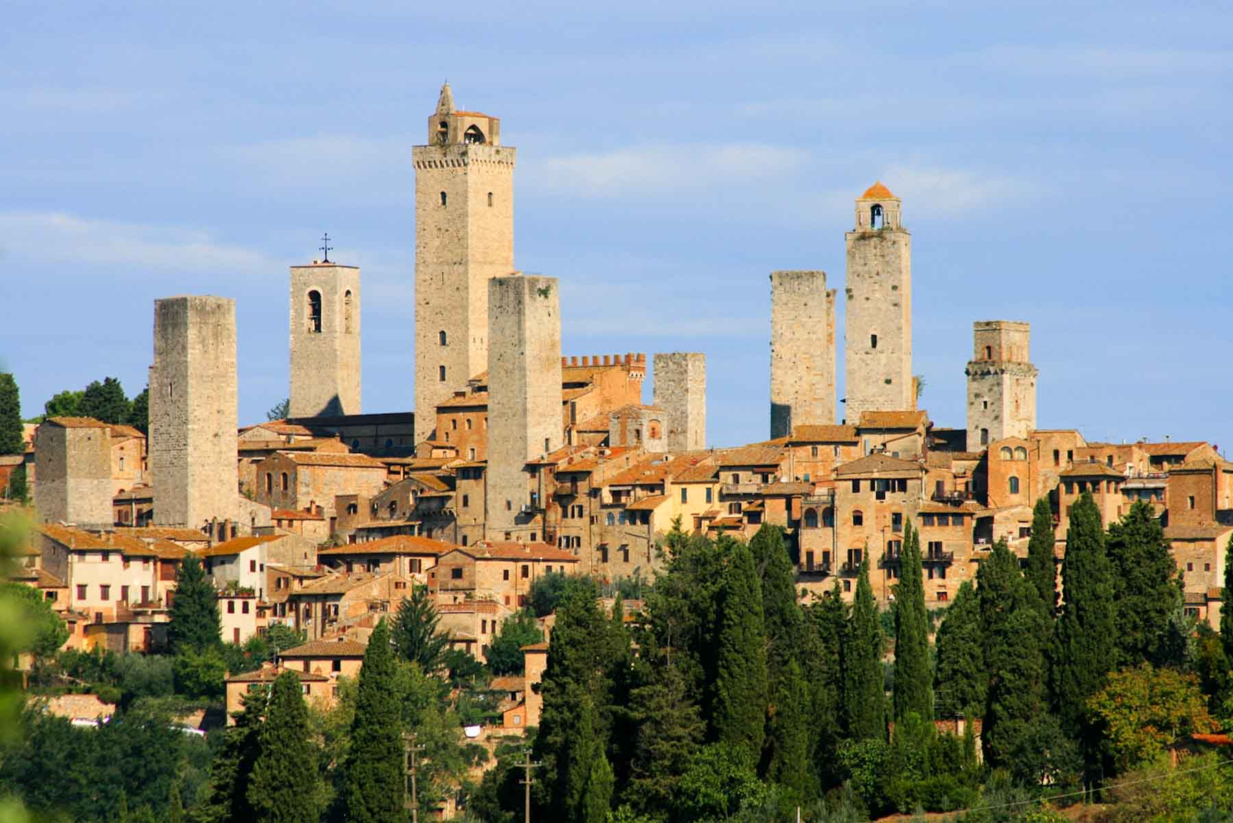San Gimignano 5 bell towers