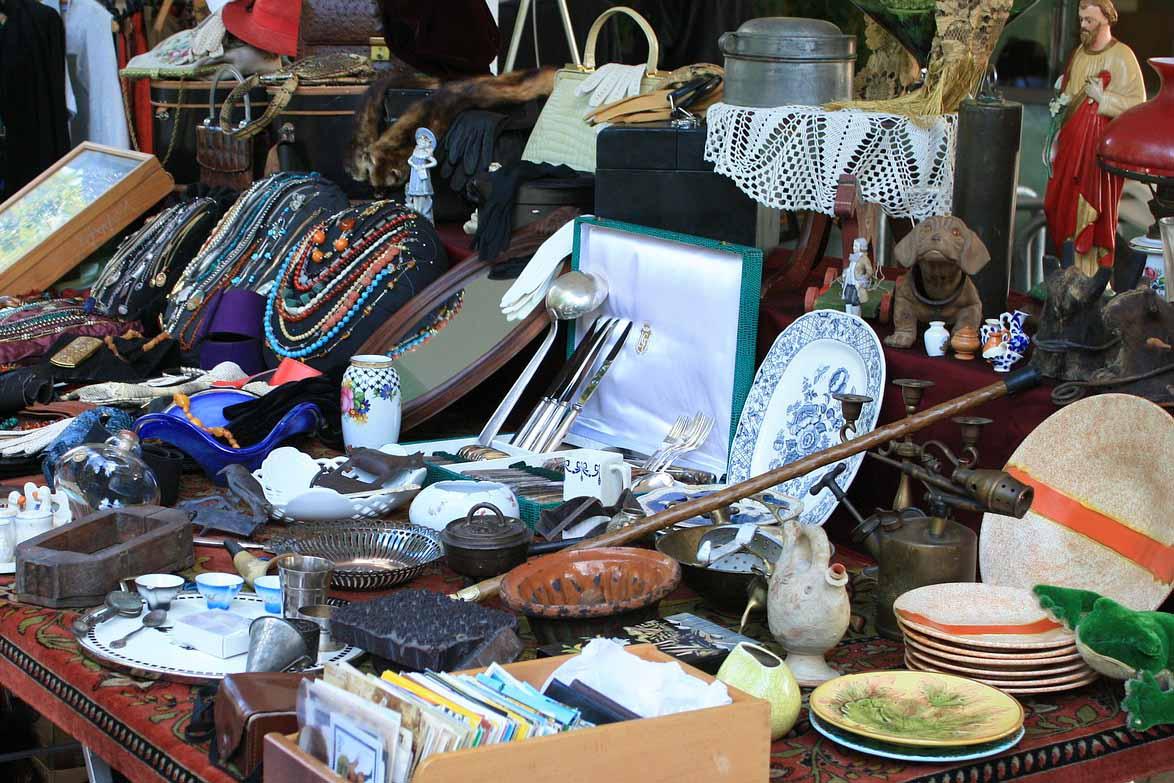 Flea Antique Market Siena
