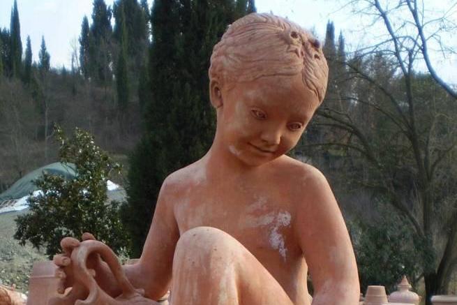 Terracotta Child
