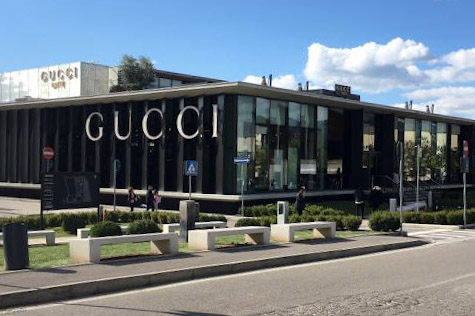 Gucci outlet - Things to do in Chianti Siena Tuscany