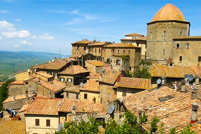 View on Volterra - Best places to visit in Tuscany