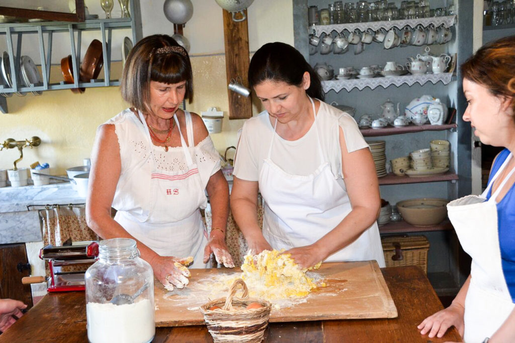 Cooking classes pasta - Cooking classes in Chianti Siena Tuscany Italy