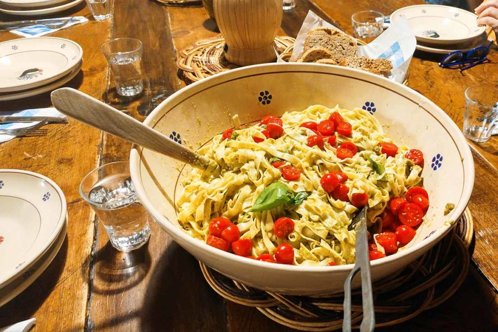 Tuscany Cooking classes - homemade pasta