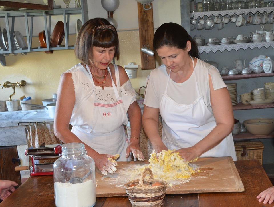 Borgo Argenina :: Making Pasta in Tuscany